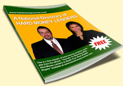 Get your FREE BONUS BOOK now, 'Directory of Hard Money Lenders'